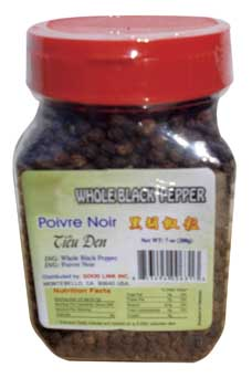 4-NG 631 whole black pepper 7oz