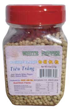 4-NG 658 whole white pepper 7oz